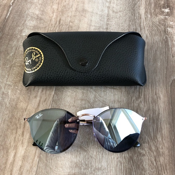 1aaa483cd83289 Ray-Ban Accessories   Authentic Ray Ban Blaze Round Sunglasses ...